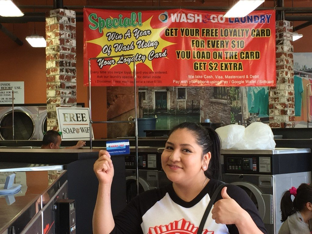 Winner of Free Laundry Sweepstakes in City Heights
