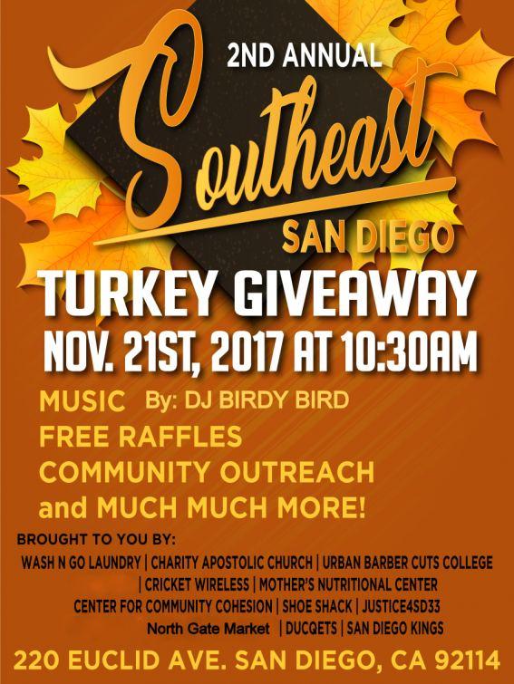 san diego free turkey giveaway 2019
